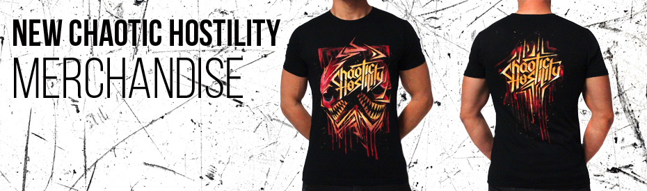 Chaotic hostility new merch