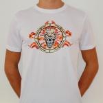CSR Flame white soccershirt