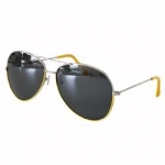Pilot Glasses black/yellow