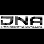 White DNA sticker