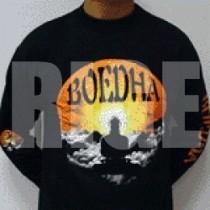 Black Boedha records longsleeve