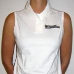 White Traxtorm sleeveless lady-polo