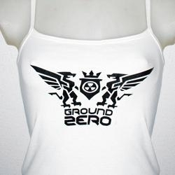 Ground Zero Ribtop, White,