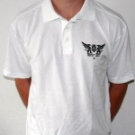 White Ground Zero poloshirt