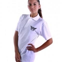 Ground Zero Lady Polo, White