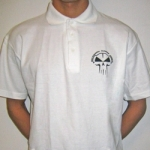 White RTC Polo - Stitched