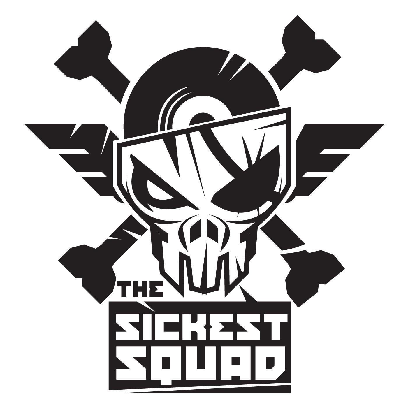 The Sickest Squad sticker small (TSQSTICKSMALL) Sticker ...