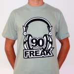 90's Freak, shortsleeve, sage,