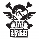 The Sickest Squad sticker big