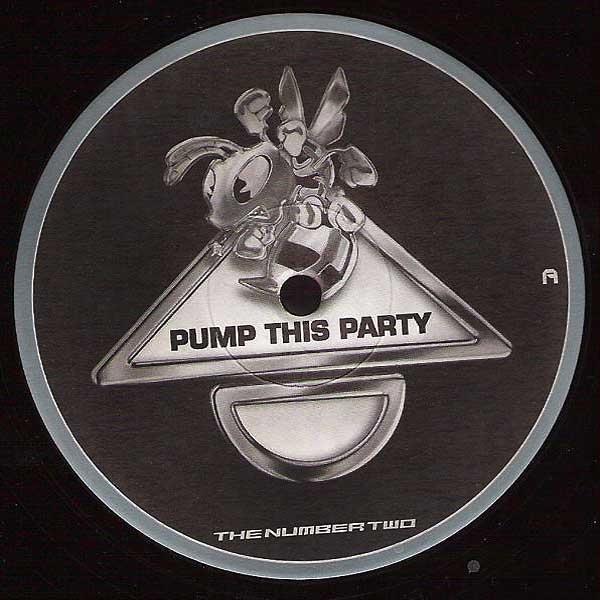 P.T.P. Hardcore - The Number Two (PTP002) Vinyl - Rigeshop
