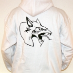 Neophyte 09 hooded stitched WHITE