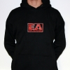 Evil Activities Hooded stitched black