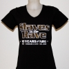 Slaves to the rave 17-11 lady V-neck