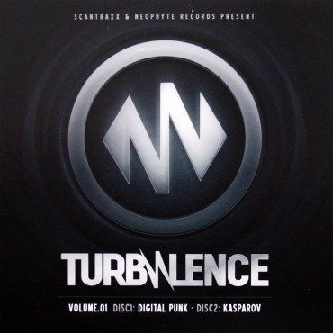 Turbulence Vol 1 Digital punk & Kasparov (2CD)