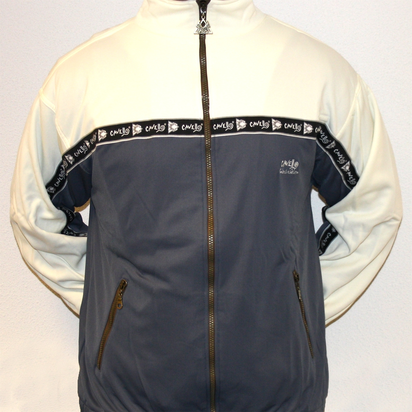 Cavello Limited Edition Creme Dark Grey Cavo210 Jacket
