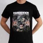 Hardshock 2013 line up party shirt