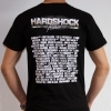 Hardshock 2013 line up party shirt