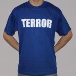 Terror shortsleeve, navy - XL