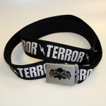 100% Hardcore Armybelt TERROR Black