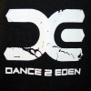 Dance 2 Eden, Hooded zipper black, XXL