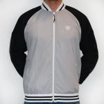 Hooligan Campus Jacket, Grey/Black, M