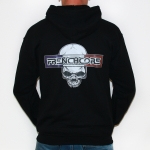 Frenchcore Blue White Red Hooded Zip