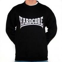Hardcore 09 black Sweater stitched