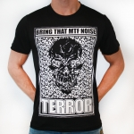 100% HC Terror MTF Noise Black/white ss