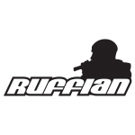 Mc Ruffian sticker big Transparant