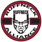 Ruffneck Alliance sticker medium Transpa