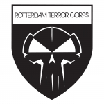 RTC shield sticker Transparant