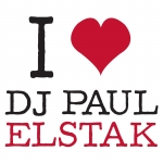 I love Dj Paul Elstak Stick Transparant