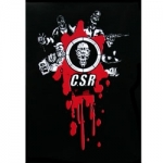 CSR Sticker Black / Red