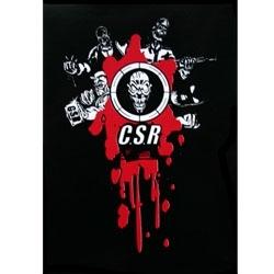 CSR Sticker Black / Red