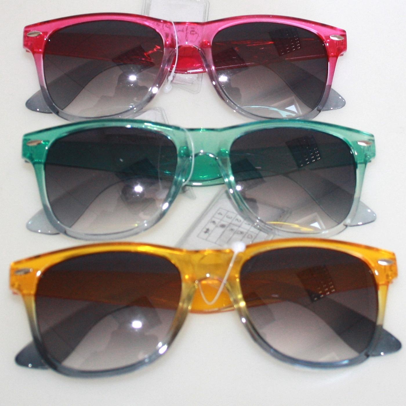 Sunglasses frame 2 color tones, Ray Ban style (A40213) Sunglasses ...