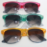Sunglass collor frame 2 tone rayban sty