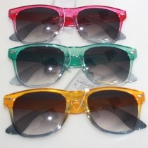 Sunglasses frame 2 color tones, Ray Ban style