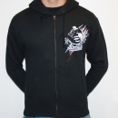 Black Nightmare Daylight hooded zipper