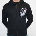 Black Nightmare Daylight hooded zipper