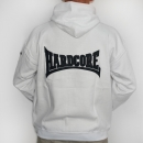 Hardcore 09 Hooded stitched White