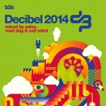 Decibel 2014 3 CD Mixed by Mad Dog