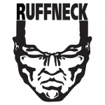 Ruffneck sticker medium