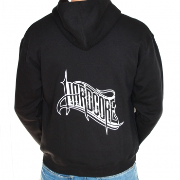 Hardcore 2014 logo Hooded Zipper