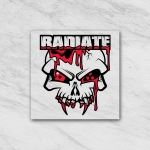 Radiate Stick White transparant