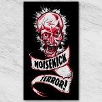 Noisekick Terror! sticker black /Red tra