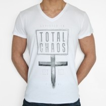 Total Chaos Shortsleeve White