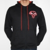 RTC Hooded Zipper Black / Red