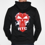 RTC Hooded Zipper Black / Red