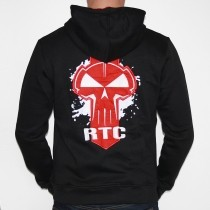 RTC Hooded Zipper Black Red
