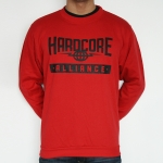 Hardcore Alliance party sweater red L